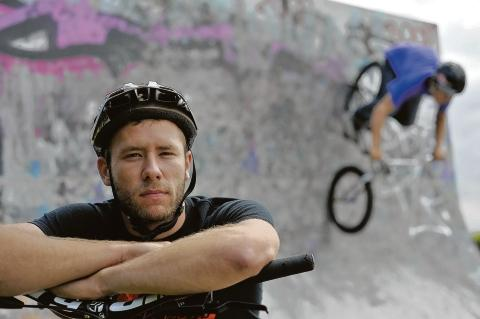 Gutted – Joe Maher, 25, a stunt bike rider, was due to perform at the opening cermony of the Olympic Games next week