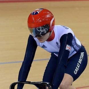 Victoria Pendleton, pictured, claimed a comfortable 2-0 win over Kristina Vogel
