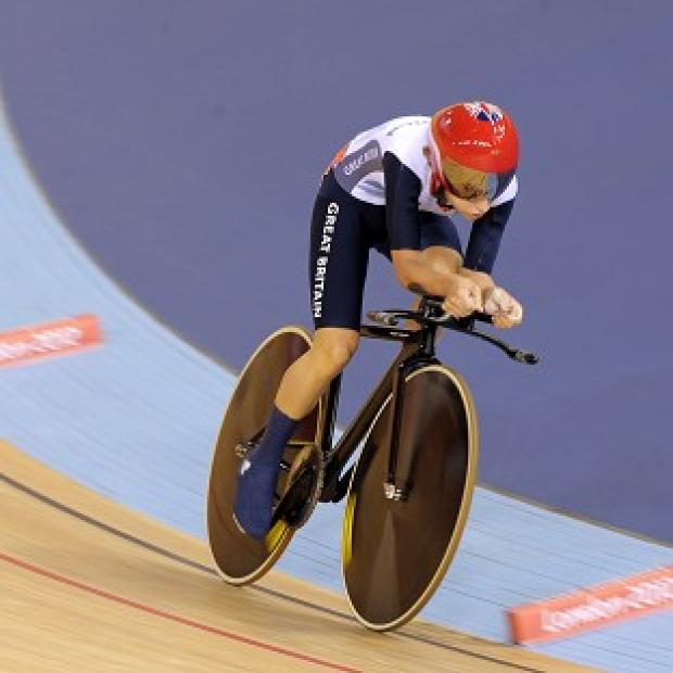 Laura Trott won the gold medal in the women's omnium
