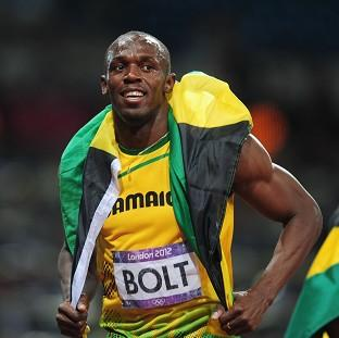 Usain Bolt, pictured, is already a legend, according to Lord Coe