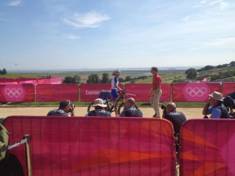 France's Bresset powers to Olympic gold at Hadleigh Farm