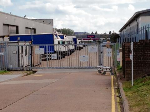 Basildon Recorder: The Alpi warehouse in Miles Gray Road
