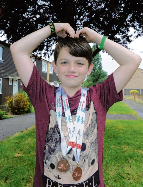 Pitsea teenager's two medals at Transplant