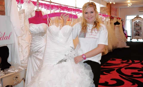TV's Don't Tell the Bride was a great boost says Serena Bridal  shop boss