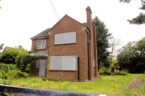 The empty house in Gardiners Close