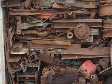 Five arrested in scrap metal theft clampdown
