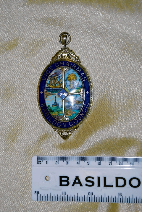 The pendant from the ceremonial chain