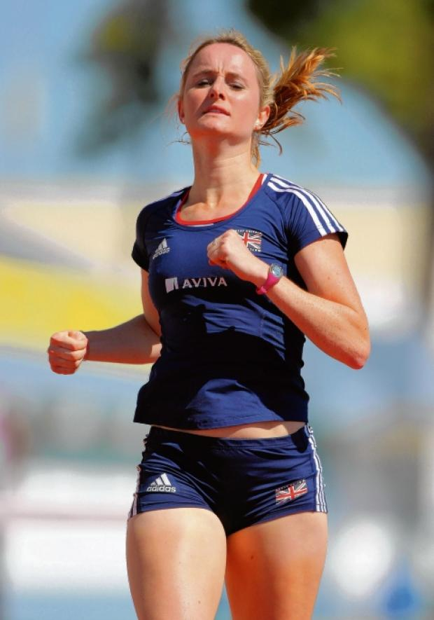 In the running - Kim Wall is back in training