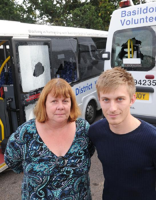 Elderly and disabled residents left housebound after vandals target charity minibuses