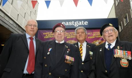 Businesses in Basildon will stand together for Royal Anglian soldier march