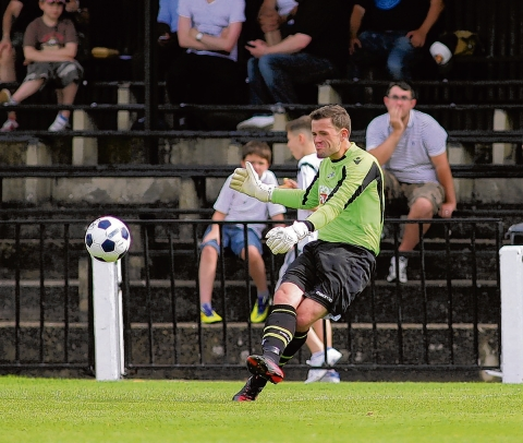 Billericay Town have brought 18-year-old goalkeeper Luke Bartlett on loan from Millwall.   PICTURE: EDMUND BOYDEN