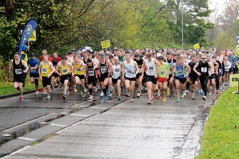 Runners get under way at the Billericay 10km. Picture courtsey of   www.sportsphotosuk.co.uk