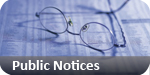Basildon Recorder: public notices classified