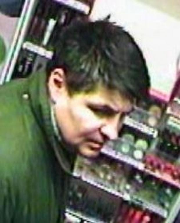 CCTV released by police following a theft from Lloyds Pharmacy
