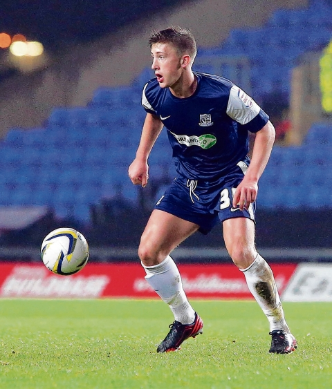 Alex Woodyard in action during his spell with Southend United