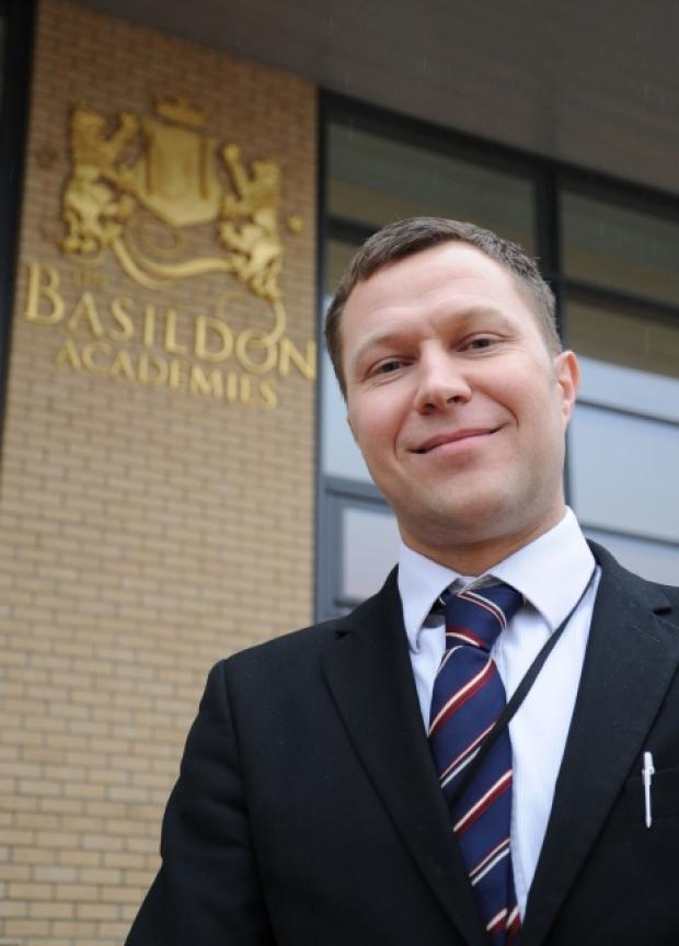 Basildon Academies new Sixth Form Director Mike McCall