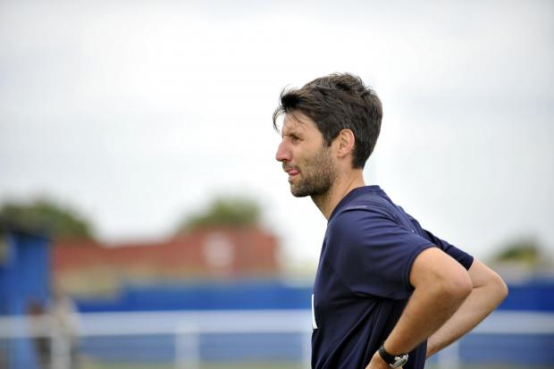Basildon Recorder: Danny Cowley - faces five games in eight days bossing Concord