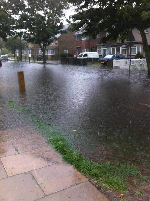 Basildon Recorder: Norwich Avenue, Southend. Pic taken by Echo reader Reece Taylor