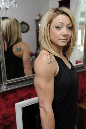 Failed drugs test ends Lorna's world bodybuilding dream