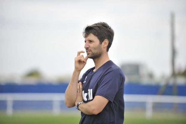 Basildon Recorder: Danny Cowley - frustrated