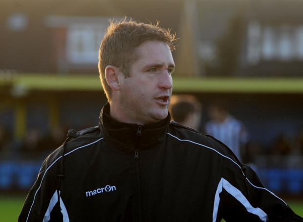 Canvey boss Danny Heale