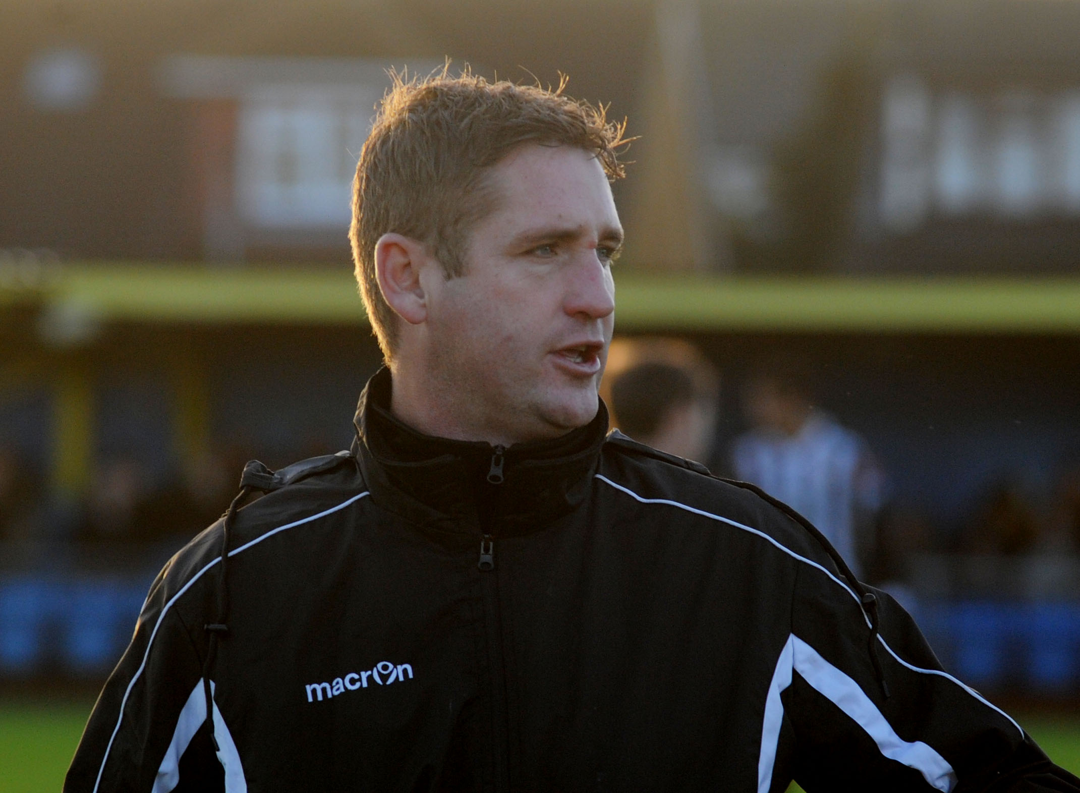 Danny Heale - pleased with a point
