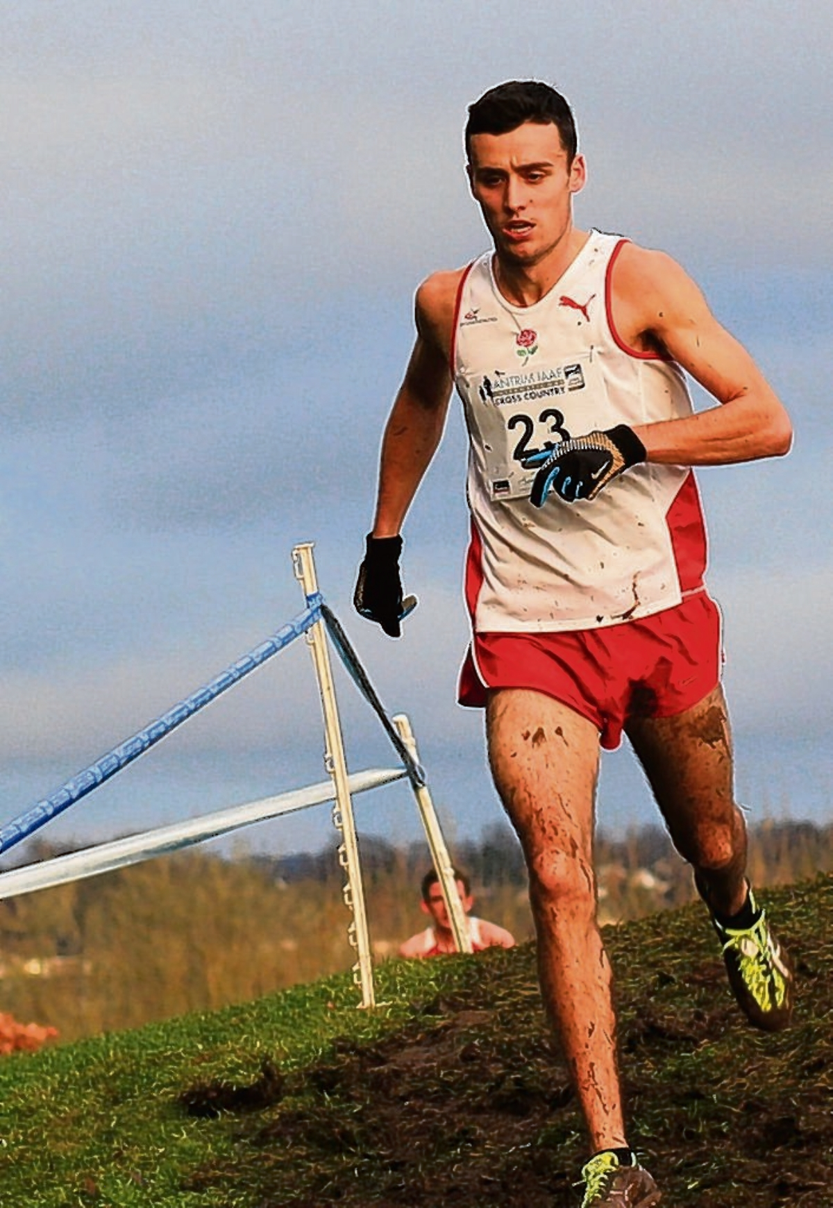 Adam Hickey in Antrim (pic courtesy of nirunning.co.uk)