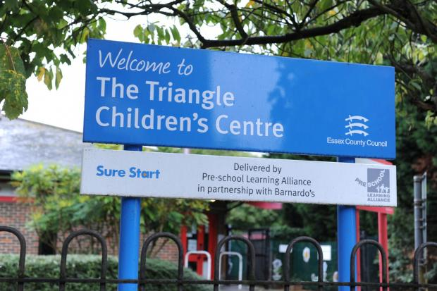Basildon Recorder: The Triangle Children's Centre in Wickford is under threat