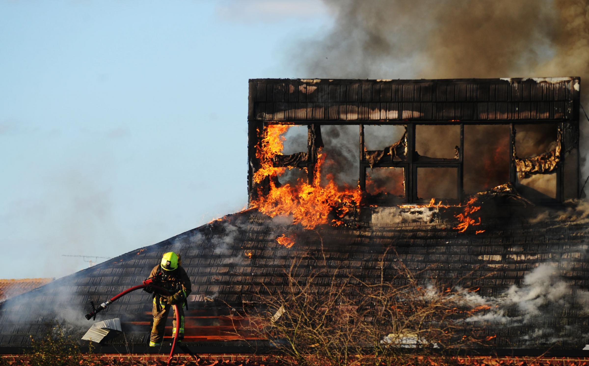 Busy Bees pre-school was forced to close in February after a huge blaze