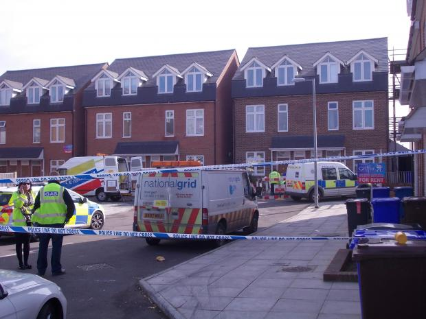 Basildon Recorder: Damage – the fire took hold early on Friday morning