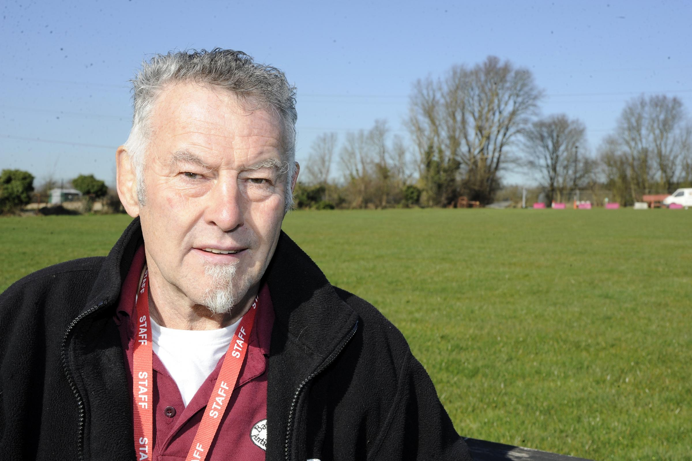 Showground boss's row over marquee