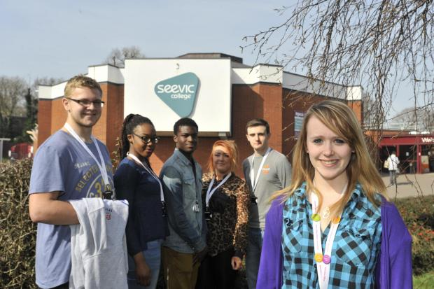 Basildon Recorder: Kind students' cash for raided charity