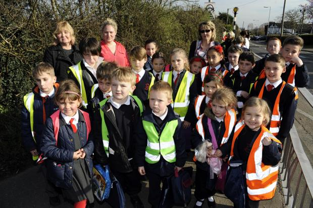 Basildon Recorder: Billericay school campaigns to save lollipop man Tom