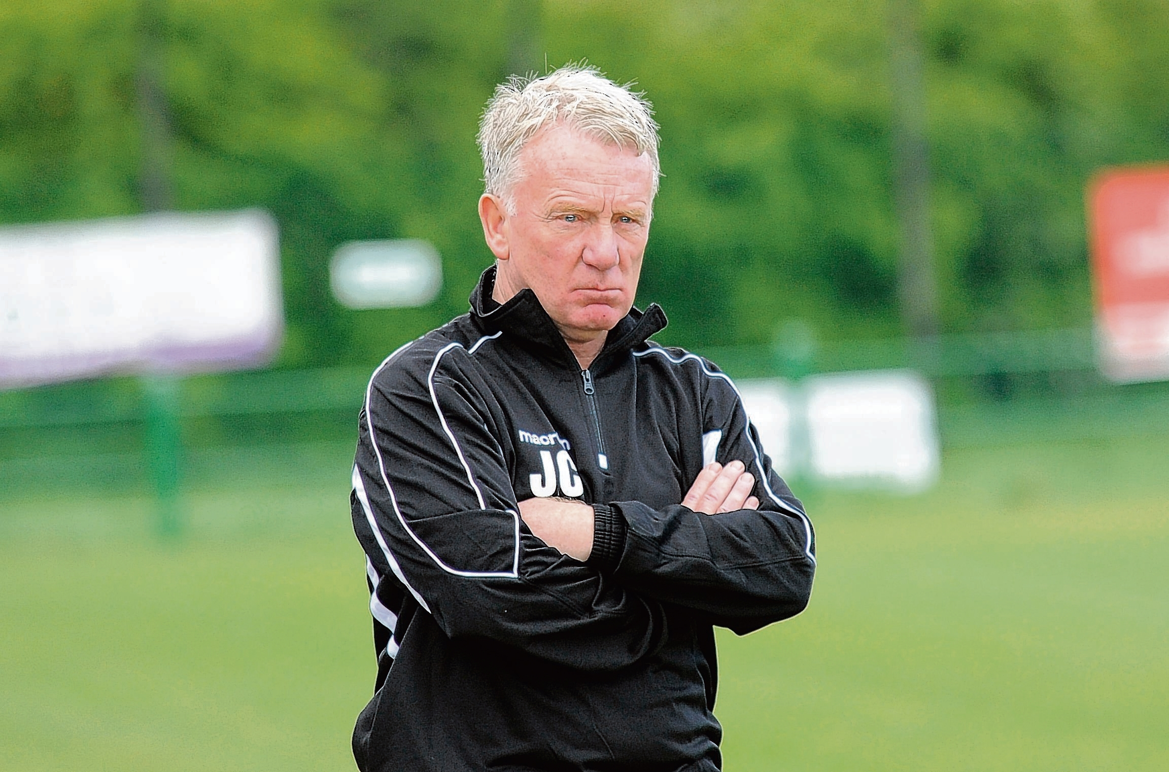 Fully focused - East Thurrock United manager John Coventry