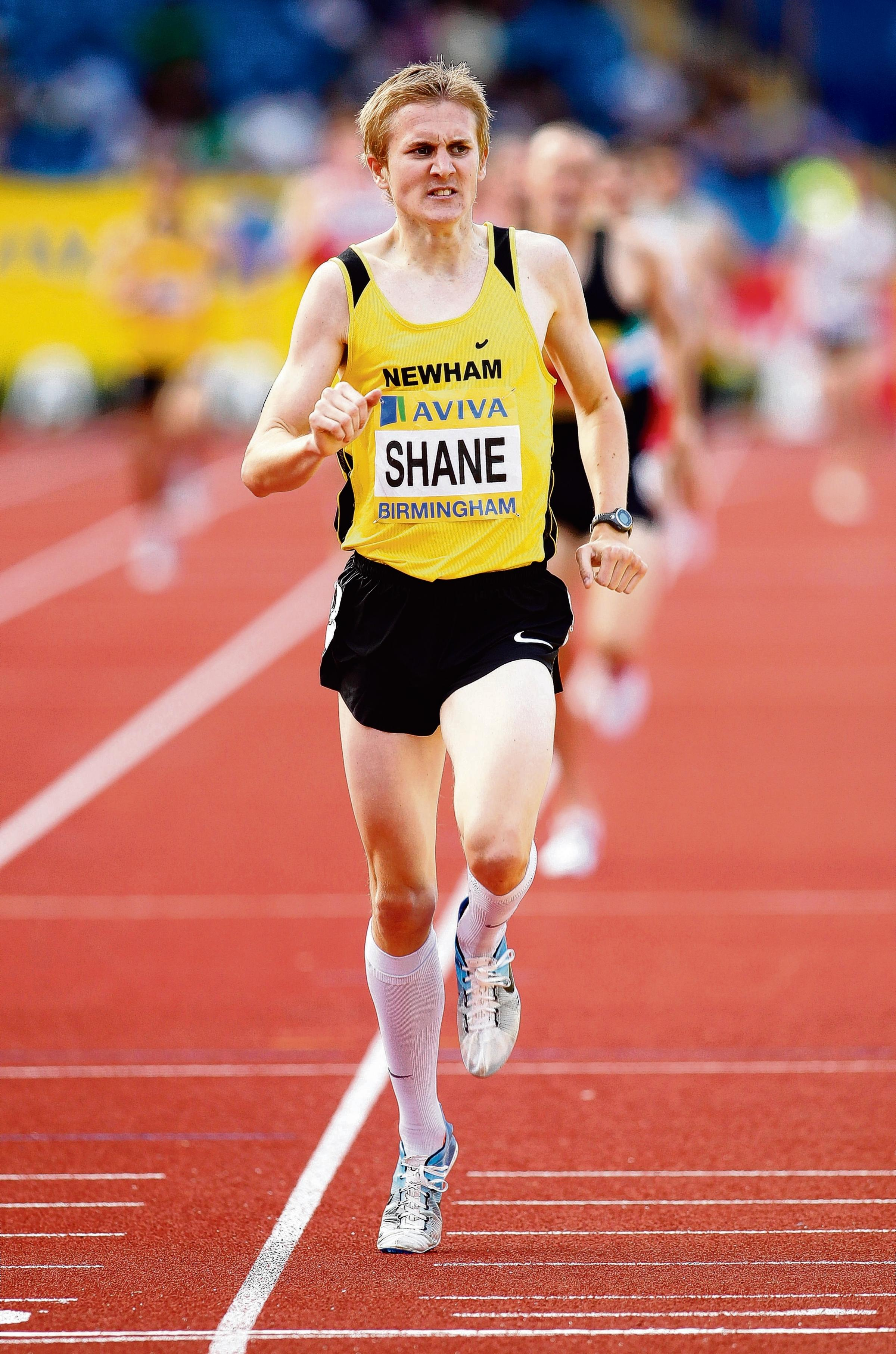 James Shane: Was in action in the 1,500m