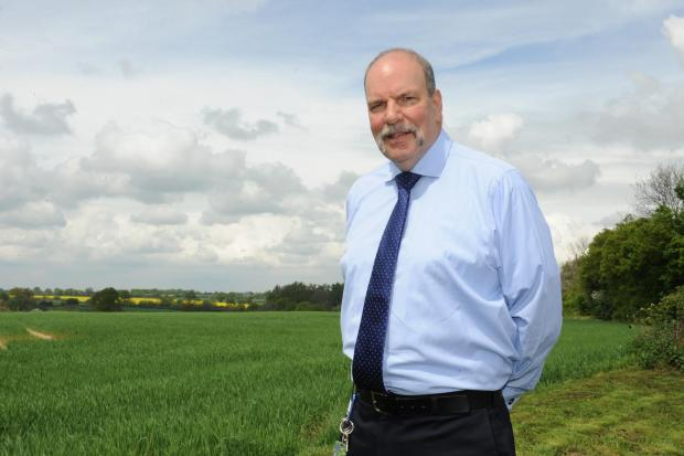 Basildon Recorder: Billericay West councillor Tony Hedley at Outwood Common Road