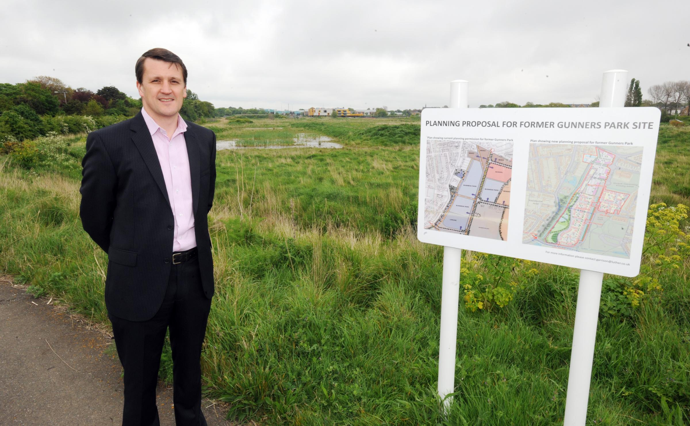 172 homes plan for Shoebury Garrison