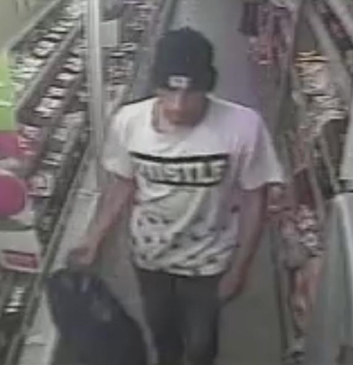 Do you know this suspected meat thief?