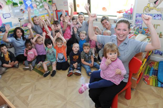 Nursery is best in East of England