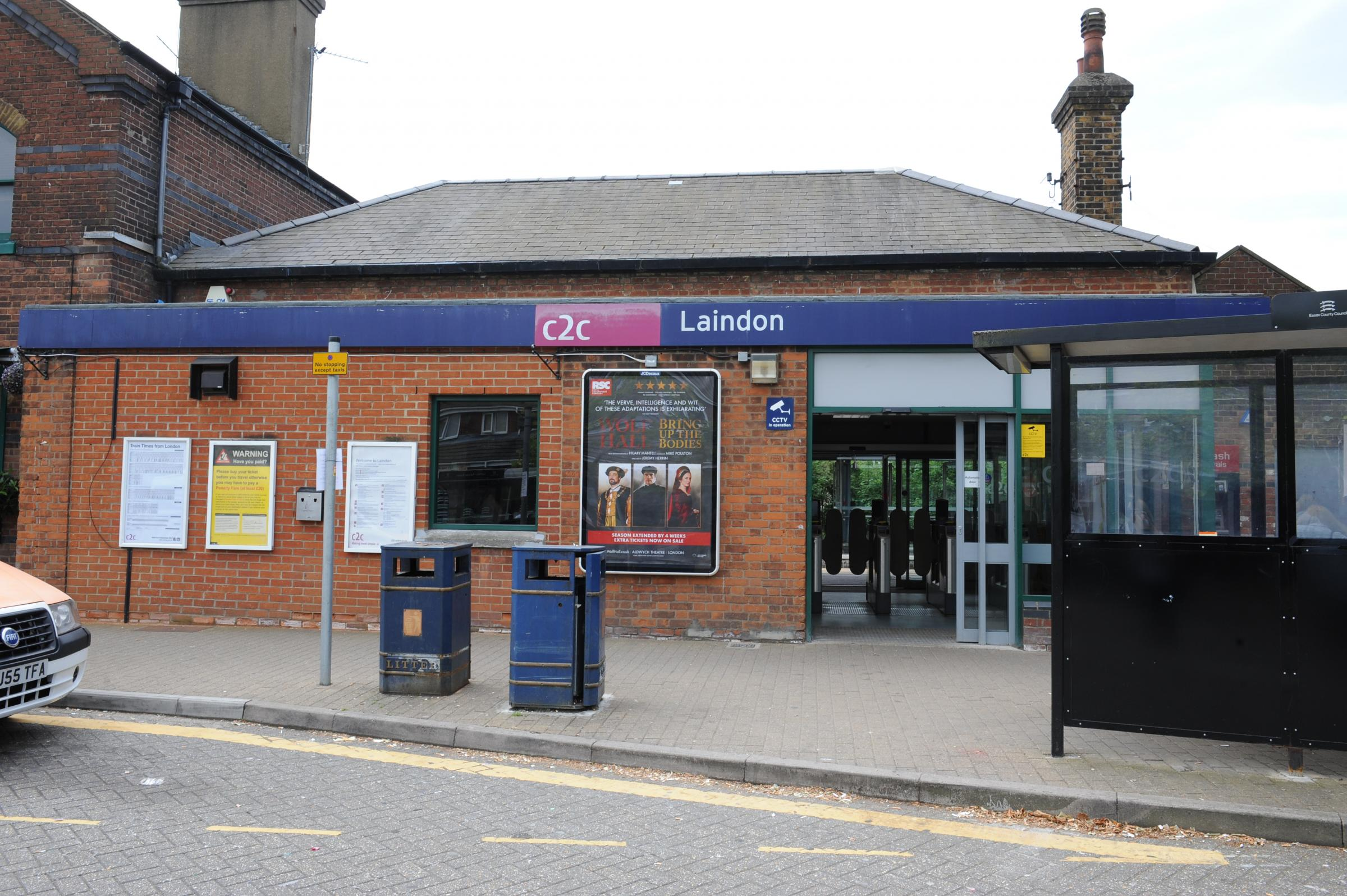 Police investigating attempted burglary at Laindon Station