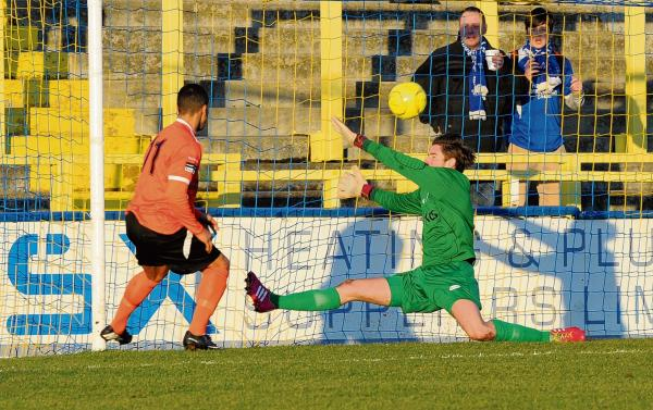 Josh Vickers excelled at Canvey last season