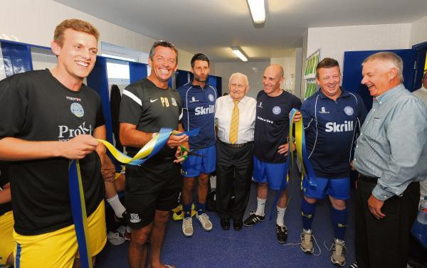 New changing rooms - for Concord Rangers