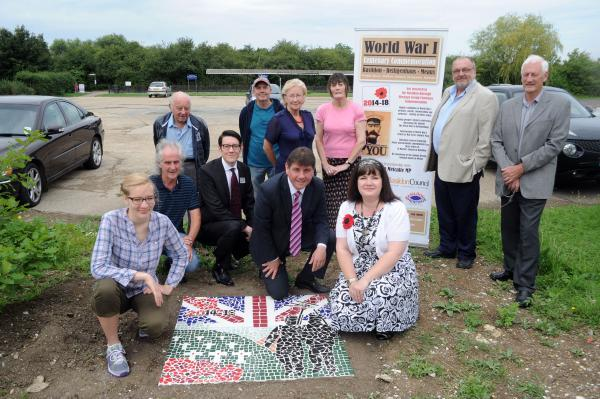 Celebrating – MP Stephen Metcalfe and heritage groups officia