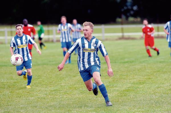 Kurtis Clarke got Hullbridge's opener in their defeat to Newham