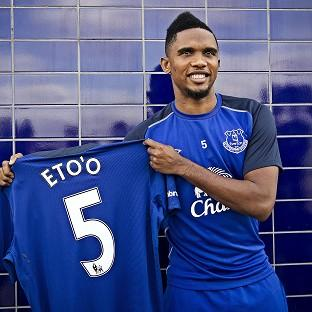 Samuel Eto'o could make his Everton d