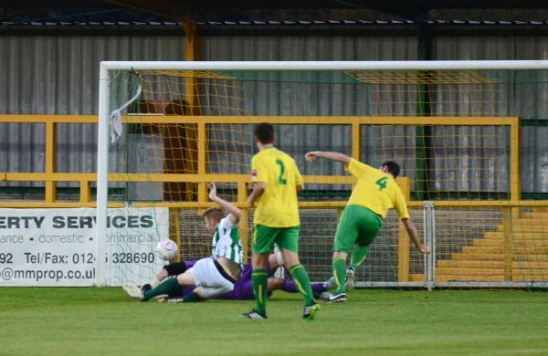 Jay Nash scored inside the first minute at Thurrock PIC SUSAN WATTS