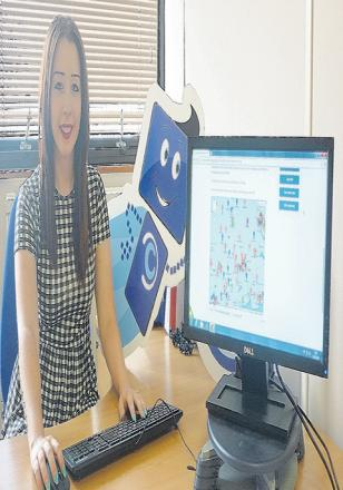 Internship – student Charlotte Brown worked for Colne Housing, helping residents get online