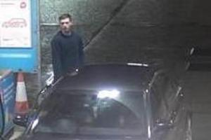 CCTV released as police hunt for petrol thief