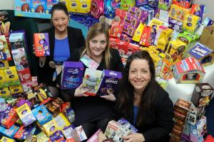 Essex businesses donate Easter eggs to sick children