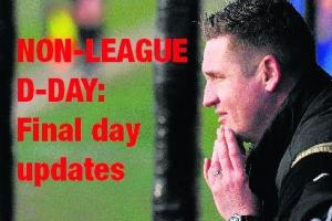 Non-League: The final day LIVE - Canvey Island vs Wingate & Finchley